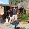 Scott and Kim in La Bocana . They have a resturant and fishermen tackle store and a camp ground at there place. Aswsome people, we stayed in there Pop-up campers for the night. the moring was welcomed by great coffee ,amazing breakfast cook by Kim.<br /> Scott does sport fising trips. (pm for more info.)
