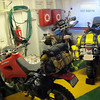 motos on the ferry.