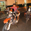 Our bike watcher Francisco was treated to Ice cream and rides around the town square with some of his friends also!!!!