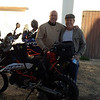 "Keith and myself, A great friend of mine from Tucson and long ago another jerk from Jersey like me. Keith had a great house lined up for us from his friend Rob in Los Conches ( just South of PP) Rob rents it out and it was fantastic and just of the Playa.<br />  Snacks and ice cold Cerveza's waiting when we rolled in...Life is good <br /> <br /> We went out for what was one of the best dinners ever at a place called ""Capones"" <br />  We had this dish call Molcajetes it's cooked in a lava stone bowl that was along side fresh crab raviolis. A true food orgasm!!!!!!"