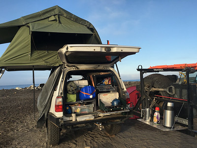 Baja scouting with the Nor Cal Land Rover Club