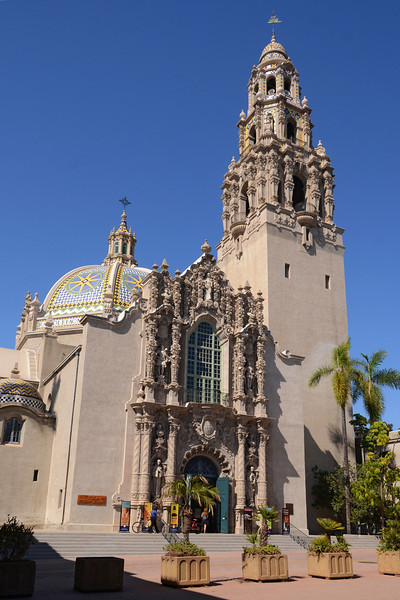 San Diego Museum of Man in Balboa Park.