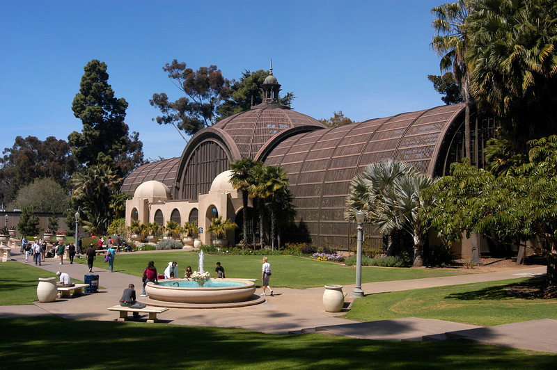 A Saturday morning in Balboa Park, San Diego, California.