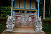 Hindu shrine in the Wyan family compound
