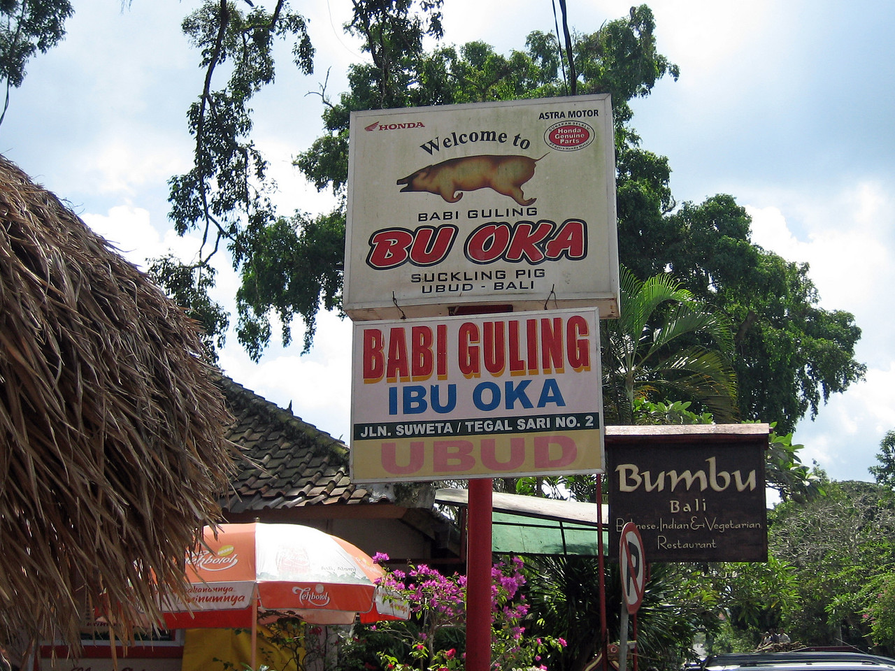 The best Babi Guling in Ubud.
