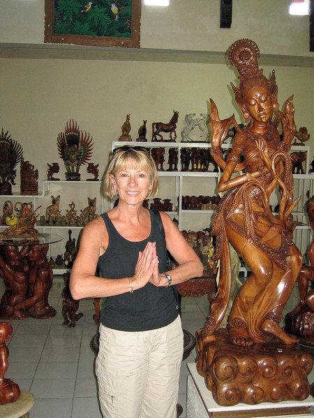 Bali's handicrafts are extremely lovely.  Besides tourism, it's the main industry for the Balinese.