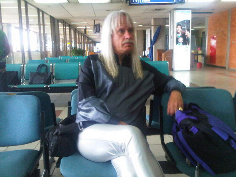 Spinal Tap at the airport.