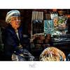 Old lady at Ubud market