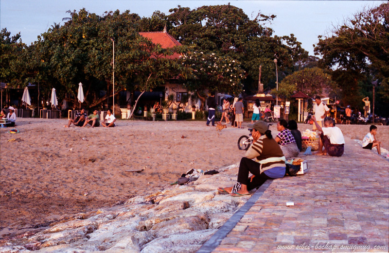 Portra iso 400 (color) - beach scene in bali