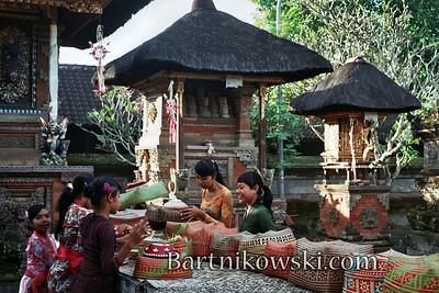 Inside the Temple in Ubud, Bali