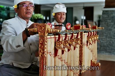 Musicians in Nusa Dua, Bali