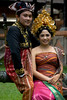 We stumbled across this lovely newly-wed couple having photos taken at the Bali Museum in Denpasar.