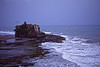 Tanah Lot in stormy weather