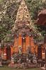 Ornate temple at Sangeh