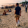 Bill on Kuta Beach in 1987.