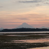 Sunset from Gili Air, Gunung Agung in the background