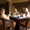 lunch in Ubud with Brenda and Laura. The sticky rice with mango was to die for
