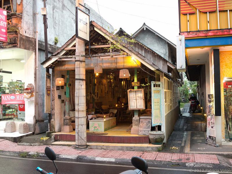 a local shop @ Monkey Forest Road, Ubud, Bali