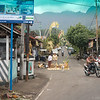 on the road from central Bali to Candidasa