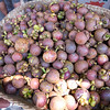 mangosteen, tastiest fruit on planet earth. at the local market in Singaraja, Northern Bali