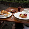 My breakfast at the Alila, mantab!