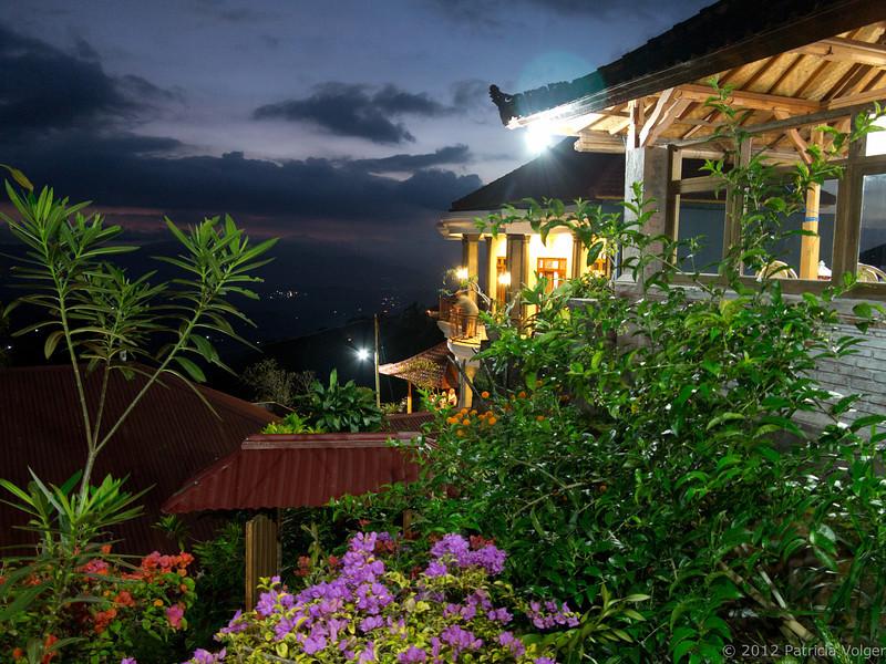 Dusk at Meme Surung Homestay, Munduk, Bali