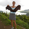 ahhh.....fruit bats.....finally got to hold one.
