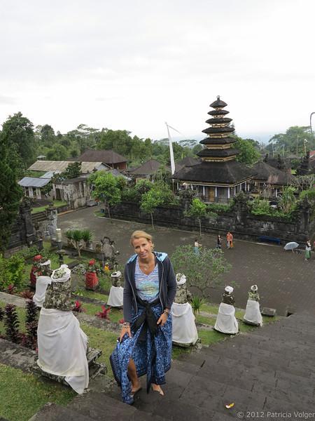 Besakih Temple, 22 temples make up this 14th century temple complex, the preeminent Hindu Temple in Bali.