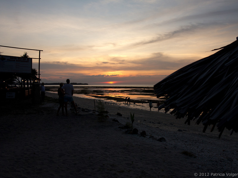 sunset from Gili Air