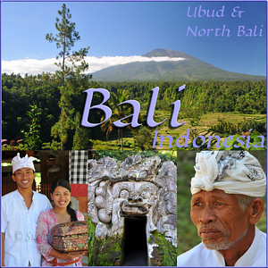 Bali is an Indonesian island with the provincial capital at Denpasar. Lying between Java to the west and Lombok to the east, the island is home to the largest tourist destination in the country and is renowned for its highly developed arts, including dance, sculpture, painting, leather, metalworking and music. What's interesting is that while Indonesia has the world's largest Muslim population, on the island of Bali, 93% of the population is Balinese Hindu and one can find Hinduism in each and every aspect of the life and living.  Balinese performing arts often portray stories from Hindu epics such as the Ramayana but with heavy Balinese influence. Famous Balinese dances include pendet, legong, baris, topeng, barong, gong keybar, and kecak (the monkey dance). Bali boasts one of the most diverse and innovative performing arts cultures in the world, with paid performances at thousands of temple festivals, private ceremonies, or public shows. June, 2009.