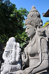 Between Ubud and Denpasar near one Celuk as one drives on the main road one comes across kilometers and kilometers of shops on either side selling stone carvings. Literally hundreds of carve ...