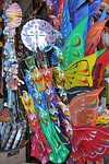 Kites on sale.In Central-East of Bali is Sukawati. In the the centre of town is the renowned Pasar Seni, undoubtedly the best place to shop in Bali. The two-storey market is a maze of alley ...