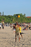 Beach volleyball.Kuta District (Indonesian: Kecamatan Kuta) is administratively a district (Kecematan) and subdistrict/village (Kelurahan) in southern Bali, Indonesia. Although popularly Ku ...