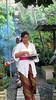 Extended family bringing Nyepi offerings
