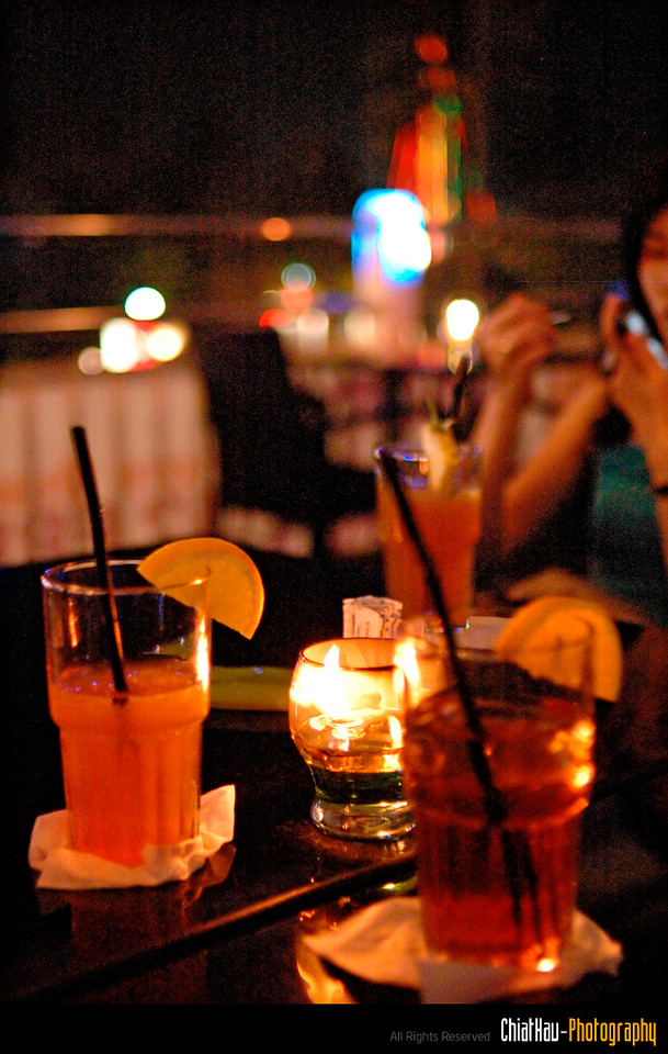 """and of course... here are our drinks... (blurp...) :""""P"""