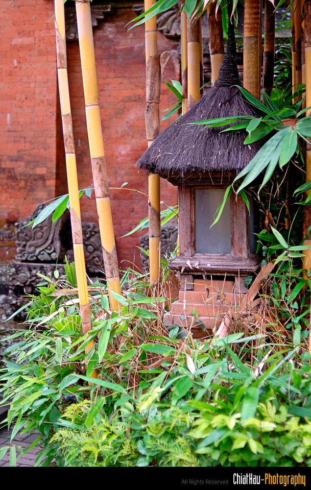You will find some small wood made lamp post here and there as well. :)