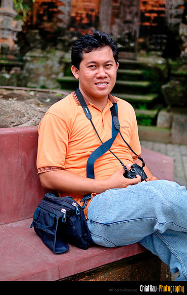and here is our faithful tour guide, PUTU!