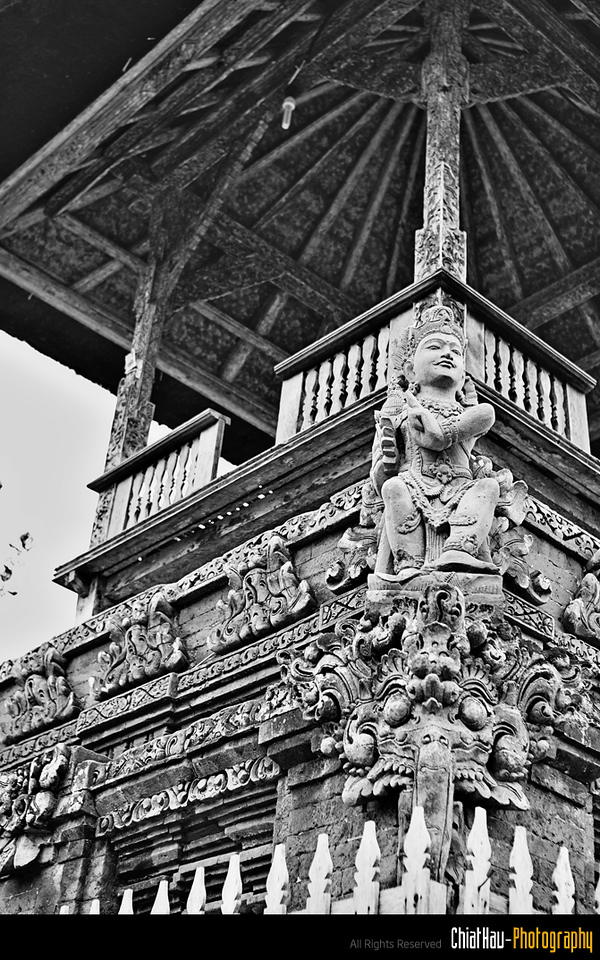 Som great architecture shown by the Balinese