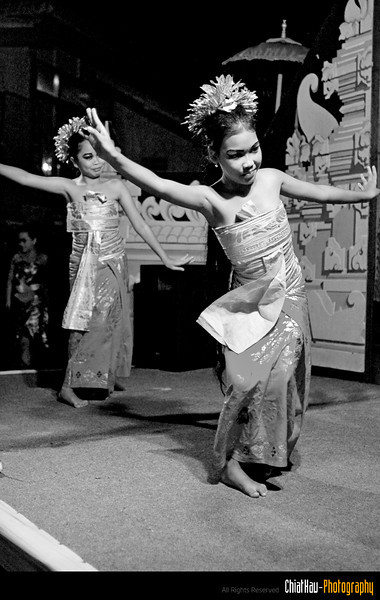 At night, they have their cultural performance as well. (It is like a welcoming dance for the guest.) :)