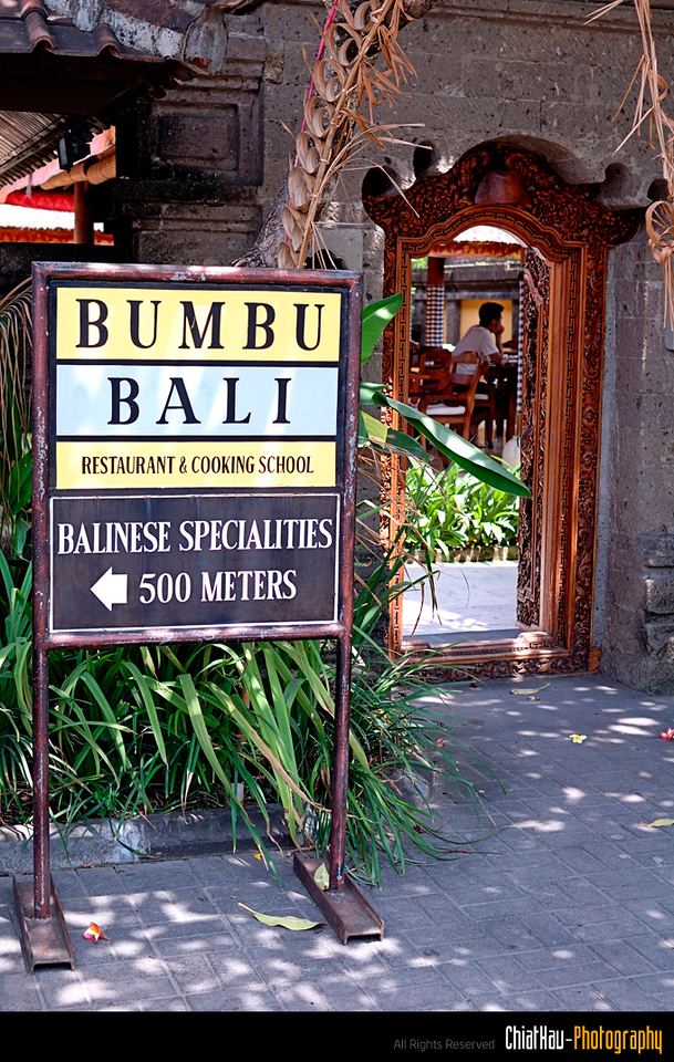 we went to Bumbu Bali for our lunch