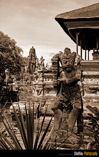 As usual, there are a lot of Balinese Statue here.