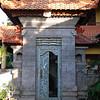 front door of villa capung, Ubud