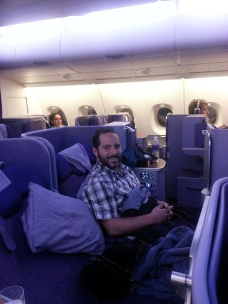 My A380 virginity... gone