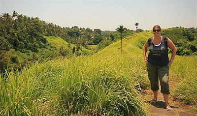 De Campuan Ridge Walk. Ubud, Bali, Indonesië.