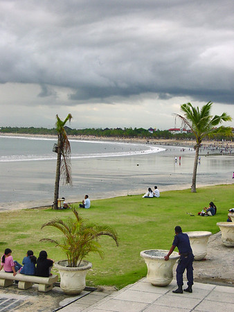 Beach Kuta Central Bali Indonesia - 16 Apr 2006
