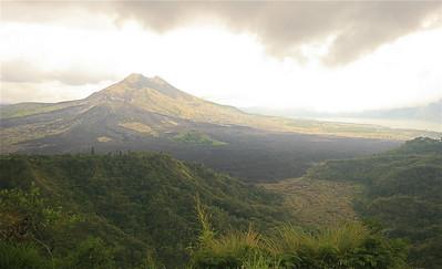 Gunung Batur, Bali, Indonesië.