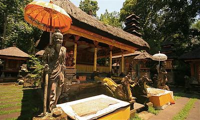 Pura Gunung Lebah tempel. Ubud, Bali, Indonesië.
