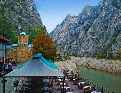 Dining At Lake Matka