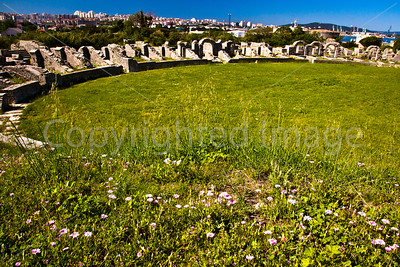 Ruins of Roman Ampitheater near Split