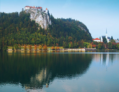 View From Lake Bled